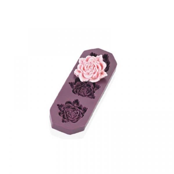 Foremka do róż z masy cukrowej 2cm Lurch Flexiform LU-00086009