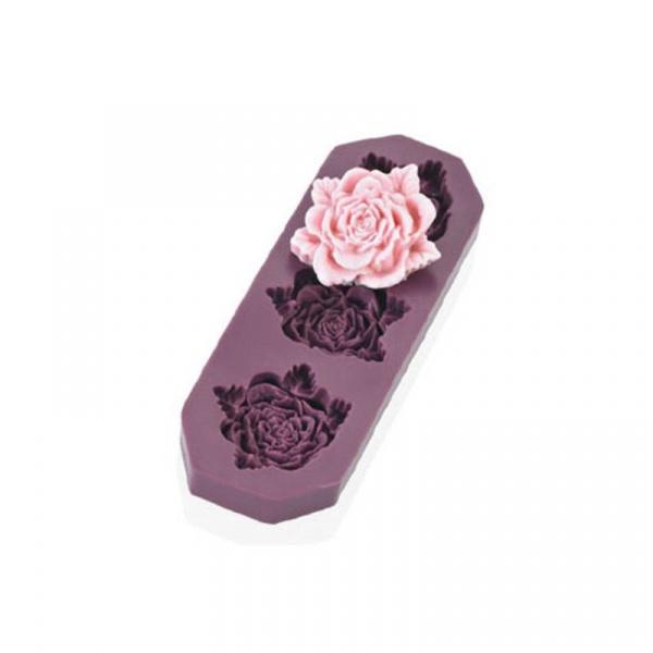 Foremka do róż z masy cukrowej 3cm Lurch Flexiform LU-00086008