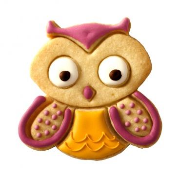 Foremka do wykrawania ciastek Birkmann SOWA HUGO