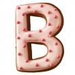 Foremka do wykrawania ciastek Litera B Birkmann Alfabet 196 308