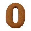 Foremka do wykrawania ciastek Litera O Birkmann Alfabet 196 438