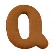 Foremka do wykrawania ciastek Litera Q Birkmann Alfabet 196 452