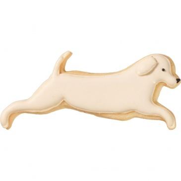Foremka do wykrawania ciastek Skaczący Pies Birkmann srebrna