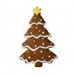 Foremka XXL do wykrawania ciastek Birkmann Choinka 191 297