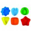 Foremki na muffinki 6 sztuk Pavoni kolorowe FRMSETPAVS