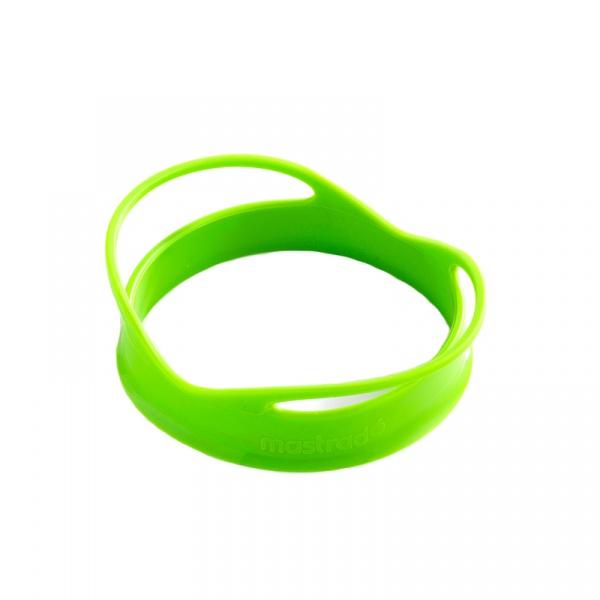 Foremki silikonowe do jajek w kształcie kół 2 szt. Mastrad zielone MA-F65908
