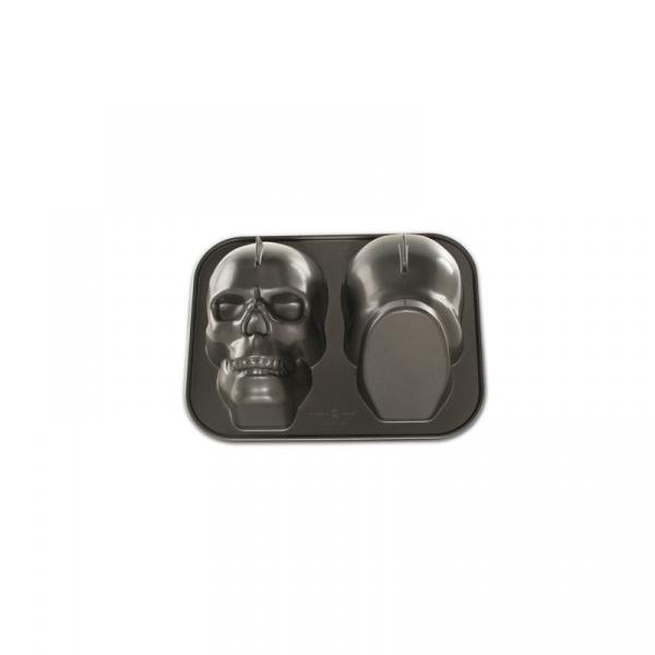 Forma do ciasta CZASZKA Nordic Ware 3D 88448