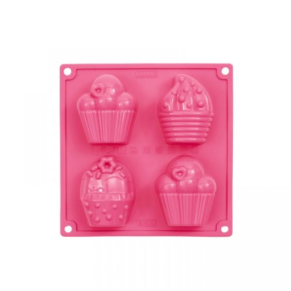 Forma do ciasta Happy Birthday Pavoni różowa FR104ROS