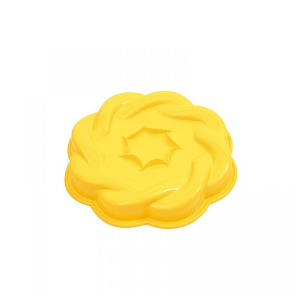 Forma do ciasta Soft 28,5 cm Pavoni żółta FRT188GLS