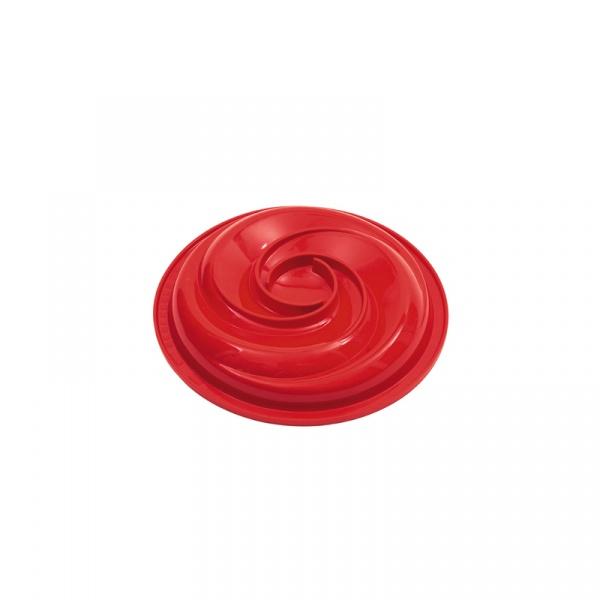 Forma do ciasta Twist 20,5 cm Pavoni mała czerwona FRT191RSAS