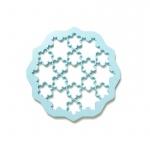 Forma do wykrawania ciastek PUZZLE SNOW Lekue niebieska