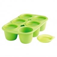 Forma z 6 wgłębieniami na posiłki dla dziecka 150 ML Mastrad zielona