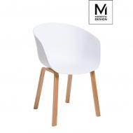 Fotel Angel Modesto Design 77cm biały