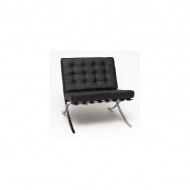 Fotel Barcelona 75x77x78 cm D2.Design czarny