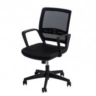 Fotel biurowy 90x56x50 cm Maduu Studio Seca czarny