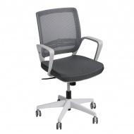 Fotel biurowy 90x56x50 cm Maduu Studio Seca odcienie szarości