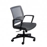 Fotel biurowy 90x56x50 cm Maduu Studio Seca szary