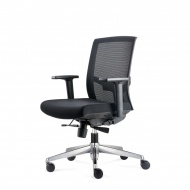 Fotel biurowy 91x63x58 cm Maduu Studio Ergo czarny