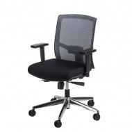 Fotel biurowy 91x63x58 cm Maduu Studio Ergo szaro-czarny