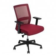 Fotel biurowy 94x67x66 cm Maduu Studio Press czerwony