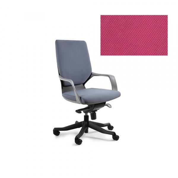 Fotel biurowy Apollo M Unique magenta W-908B-BL401