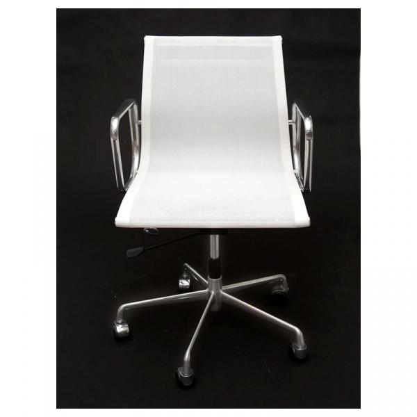 Fotel biurowy CH1171T biała siateczk,chr DK-27736
