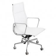 Fotel biurowy D2 CH1191T biała siatka