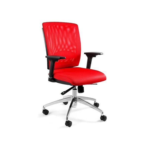 Fotel biurowy obrotowy Unique Multi czerwony X-7-2