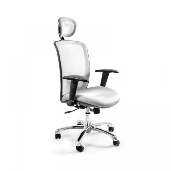 Fotel biurowy UNIQUE Expander biały W-94-0