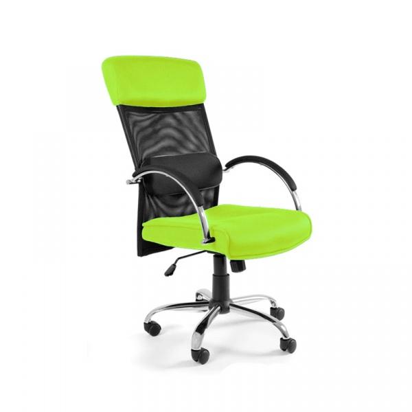 Fotel biurowy UNIQUE Overcross zielony W-62-9