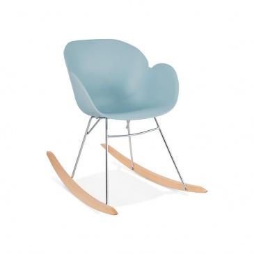 Fotel bujany Kokoon Design Knebel niebieski