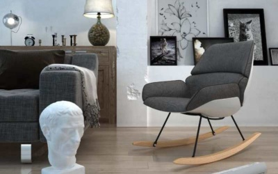 Fotel bujany - wnętrze vintage czy nowoczesne?