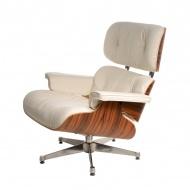 Fotel D2 Vip inspirowan Lounge Chair biały