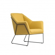 Fotel Dakota : Kolor - żółty
