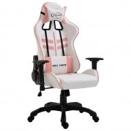 Fotel dla gracza, różowy, PU