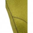 Fotel Jajo szeroki tkanina oliwkowa 2720 z przeszyciem DK-42159