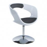 Fotel Kirk Kokoon Design biało-czarny