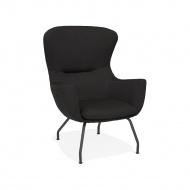 Fotel Kokoon Design Korat czarny