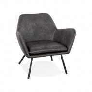 Fotel kokoon Design Luft ciemnoszary