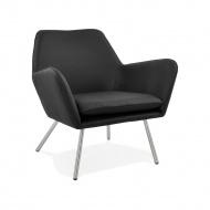 Fotel Kokoon Design Luft czarny