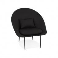 Fotel Kokoon Design Parabol czarny