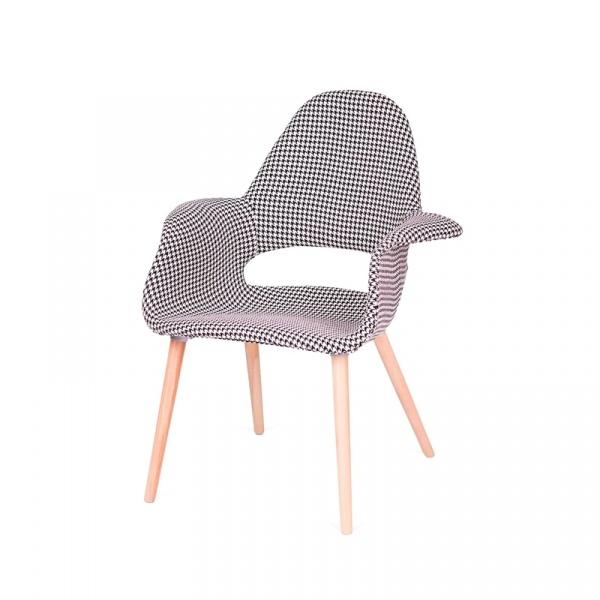 Fotel/krzesło King Bath Plush Arm pepitka RU-FPC-150KS-FC-031