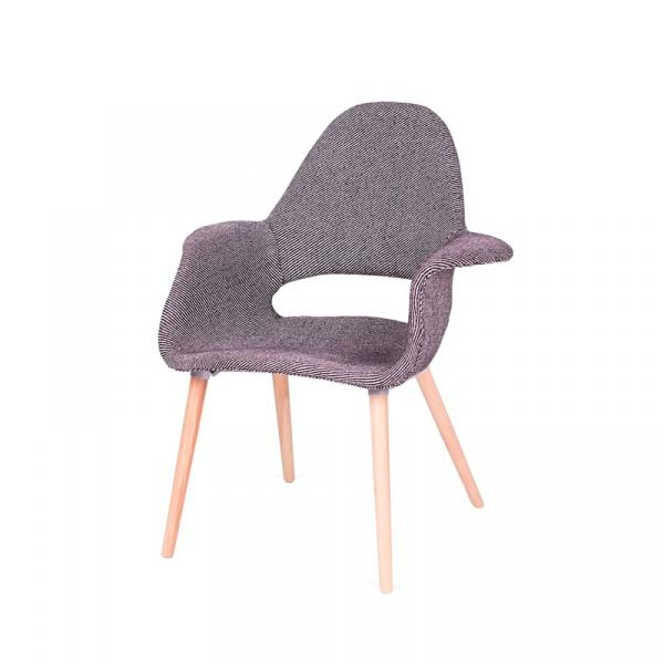 Fotel/krzesło King Bath Plush Arm zebra czarno-biała RU-FPC-150KS-FC-033