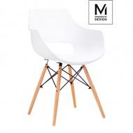 Fotel Modesto Foro biały