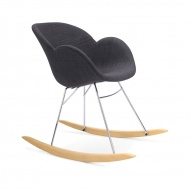 Fotel na płozach Toggle Kokoon Design szary