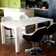 Fotel Pezzo K- czarny, S-białe DK-24448