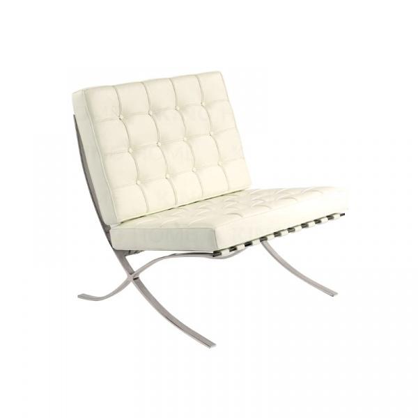 Fotel pikowany Barcelon King Home biały AA-ST-03-1.WHITE