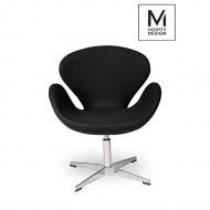 Fotel Swan Up Modesto Design czarny