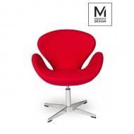Fotel Swan Up Modesto Design czerwony