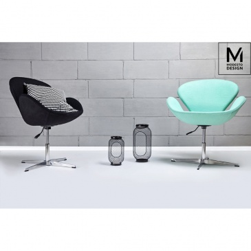 Fotel Swan Up Modesto Design miętowy